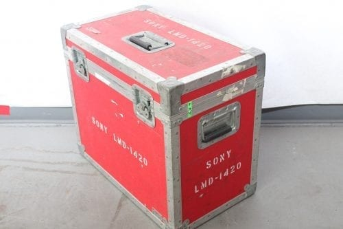 """Sony LMD-1420 14"""" Professional Series LCD Monitor w/ Case (1f) Case1"""