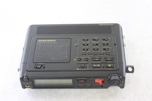 Marantz PMD670 Solid-State Recorder Top