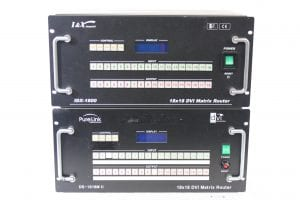 PureLink DS-1818M II + I&X Integrated IDX-1800 18x18 DVI Matrix Router for Parts Main