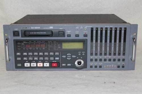 Tascam DA-98HR DTRS 24-Bit Modular Digital Multritrack Recorder w/ (2) IF-AN98HR A/D Boards (1b) Main