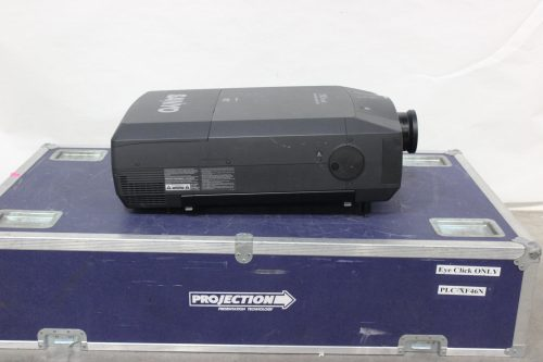 Sanyo PLC-XF46N LCD Digital Multimedia Projector Side1