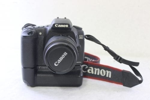Canon EOS 20D 8.2MP Digital SLR Camera Front