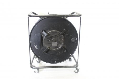 Canare R460S Brake Lock Cable Reel with Casters Front1
