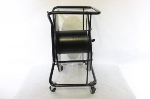 Canare R460S Brake Lock Cable Reel with Casters side1