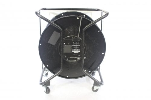 Canare R460S Brake Lock Cable Reel with Casters Back