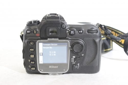 Nikon D200 10.2MP Digital Camera Kit Back