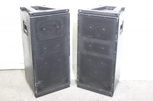 "EAW KF300isR 12"" Loudspeaker (Pair) w/ Mismatched Road Case - main"