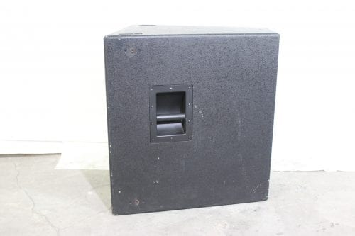 EAW SB330e Premium Subwoofer w/ Road Case side 1
