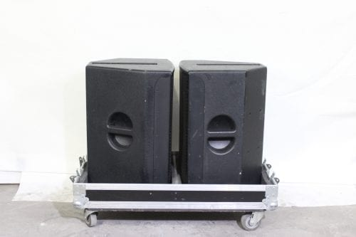 EAW JFX260 2-Way Compact Full Range Loudspeaker w/ Road Case Side1