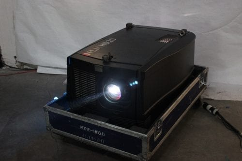 Barco FLM HD20 20k Lumens 1080p HD DLP Projector (7749 Hrs) in ATA Case - 70 Lamp Hr + Spare Lamp (1G) Main