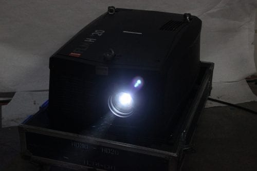 Barco FLM HD20 20k Lumens 1080p HD DLP Projector (5220 Hrs) in ATA Case - 1 Lamp Hr + Spare Lamp (1I) Main