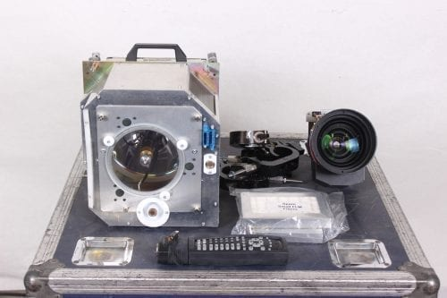 Barco FLM HD20 20k Lumens 1080p HD DLP Projector (5220 Hrs) in ATA Case - 1 Lamp Hr + Spare Lamp (1I) Parts