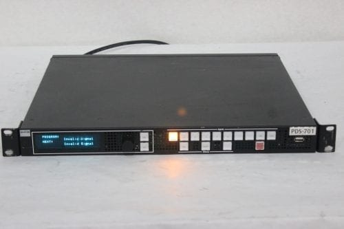 Barco PDS-701 3G Digital Switcher - Main