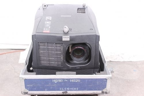 Barco FLM HD20 20k Lumens 1080p HD DLP Projector (5220 Hrs) in ATA Case - 1 Lamp Hr + Spare Lamp (1I)