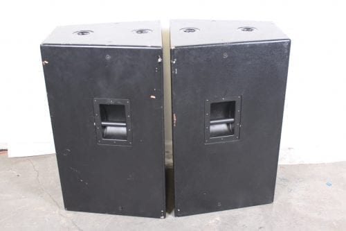 EAW KF465 Biamplified 3-Way Full Range Passive Speaker w/ Road Case Side2