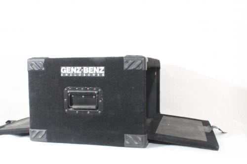 Genz-Benz Carpeted Studio Rack Case 6RU - Double Sided Opening 2