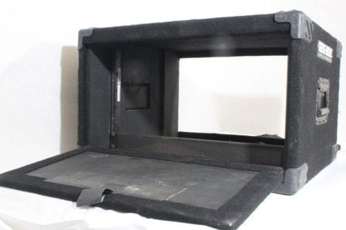 Genz-Benz Carpeted Studio Rack Case 6RU - Double Sided Opening