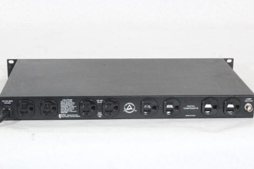 Furman PL-Plus II Power Conditioner with Voltmeter - Back