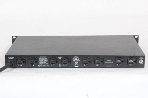 Furman PL-Pro D II Power Conditioner - Back