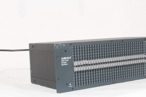 Ashly GQX-3102 - Dual Channel 31-Band Graphic Equalizer - Side 1