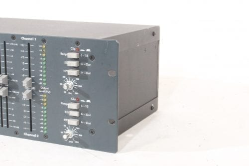 Ashly GQX-3102 - Dual Channel 31-Band Graphic Equalizer - Side 2