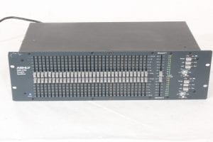 Ashly GQX-3102 - Dual Channel 31-Band Graphic Equalizer - Main