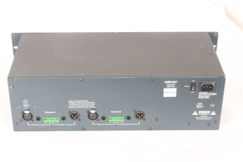 Ashly GQX-3102 - Dual Channel 31-Band Graphic Equalizer - Back