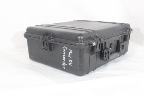 Canon 3CCD Digital Video Recorder GL2NSC + Directional Stereo Mic DM-50 + Mic Adapter MA-300+ Pelican Case 1600 - Case 1