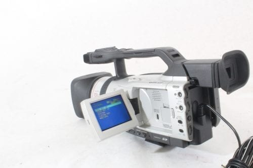 Canon 3CCD Digital Video Recorder GL2NSC + Directional Stereo Mic DM-50 + Mic Adapter MA-300+ Pelican Case 1600 - Camera Power