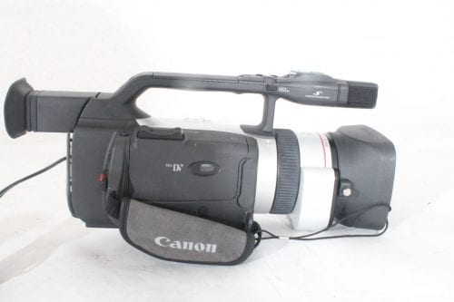 Canon 3CCD Digital Video Recorder GL2NSC + Directional Stereo Mic DM-50 + Mic Adapter MA-300+ Pelican Case 1600 - Side 1