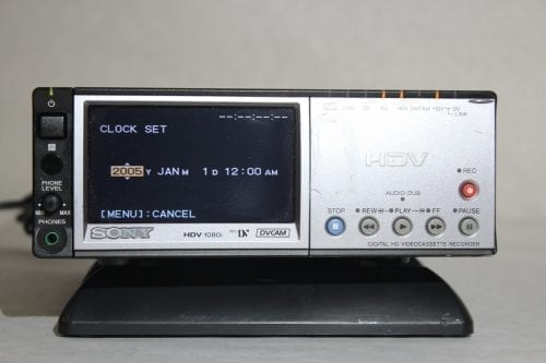 Sony HVRM10U - Professional Video Cassete recorder/player - Front