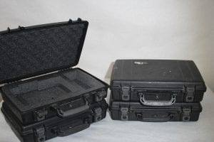 Pelican HARD CASE BLACK WITH FOAM - Front
