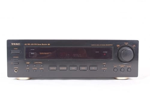 Teac AG 780 200 Watt Stereo Receiver Front