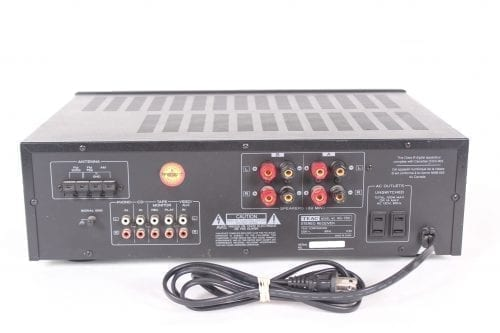 Teac AG 780 200 Watt Stereo Receiver Back1