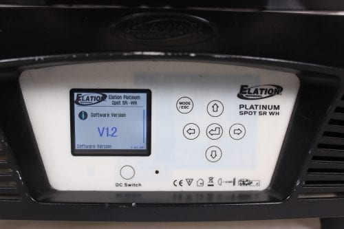 Elation Professional Platinum Beam 5R (1267 Lamp Hrs) System