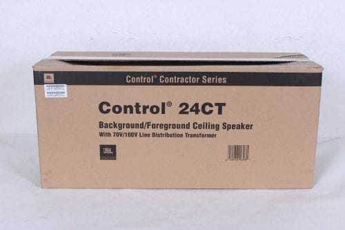 JBL Control 24CT 2-Way Ceiling Speaker (Pair) Box