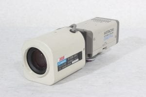 Hitachi KP-D50 Color Digital Camera + Canon 3CCD TV Zoom Lens 6.5~65mm 1:2.2 (For Parts Only) - Main