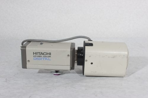 Hitachi KP-D50 Color Digital Camera + Canon 3CCD TV Zoom Lens 6.5~65mm 1:2.2 (For Parts Only) - Side 2