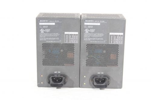 Sony AC-D9H V-Mount Power Supply - 2 in Lot (For Parts Only) - Front