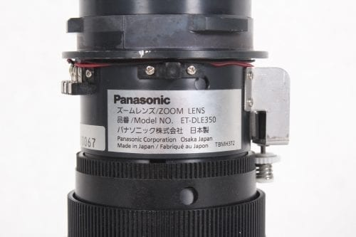 Panasonic ET-DLE350 Long Throw Projector Lens 52.8-79.5mm f/1.8-2.2 Label