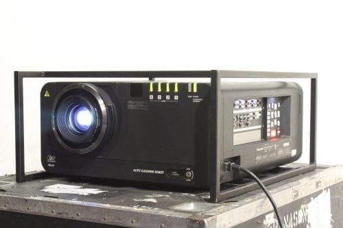 Panasonic PT-DW10000U DLP Projector HD 1080p 10000 ANSI Lumens 3007 Hrs w/ Road Case (No Lens) Main