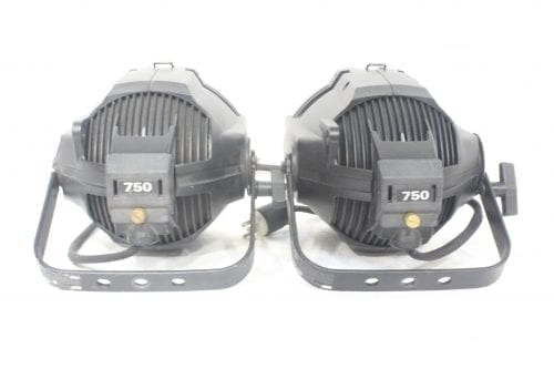 ETC Source Four 750W EA PAR w/ MSL and Lamp Clamp (Pair) Back
