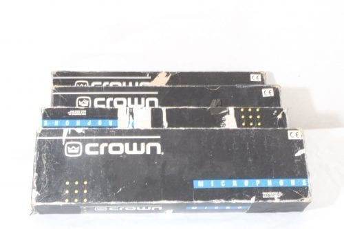 Crown Audio LM300 Super Cardioid Gooseneck Lectern Microphone - Boxed