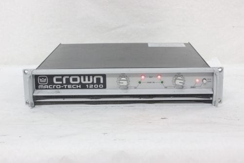 Crown Macro-Tech 1200 Stereo Power Amplifier Main