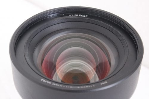Panasonic ET-DLE055 11.9mm f/1.8 Fixed 0.8:1 (WUXGA) Focus Lens 1-Chip DLP Front2
