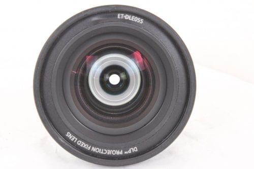 Panasonic ET-DLE055 11.9mm f/1.8 Fixed 0.8:1 (WUXGA) Focus Lens 1-Chip DLP Front