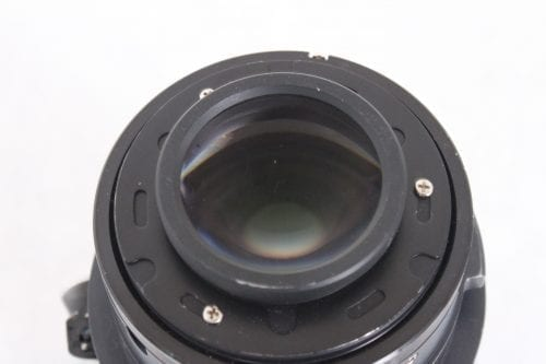 Panasonic ET-DLE055 11.9mm f/1.8 Fixed 0.8:1 (WUXGA) Focus Lens 1-Chip DLP Back2