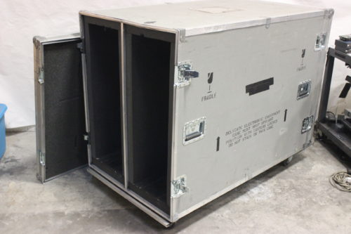 Calzone Cases Wheeled Road Case - Good for speaker bumpers (64Lx35Wx42H) Main
