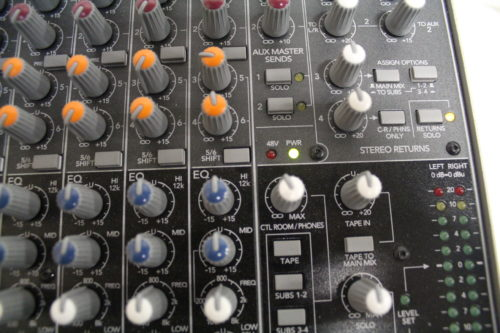 Mackie 1604-VLZ3 16-Channel Compact MixerClose