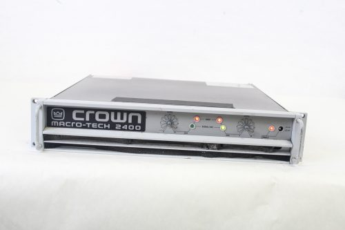 Crown Macro-Tech 2400 Stereo Power Amplifier Main
